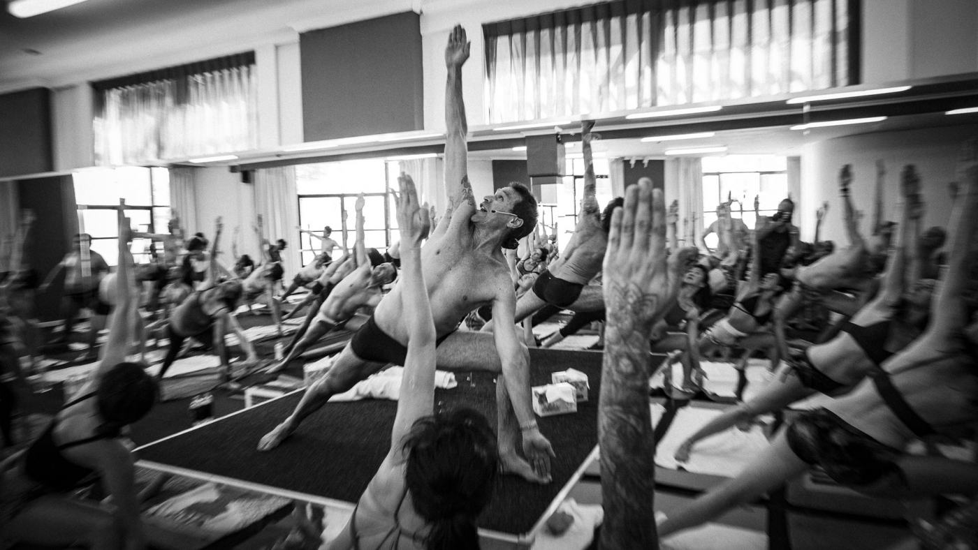 """bikram always said, """"only demonstrate the postures you are good at"""""""