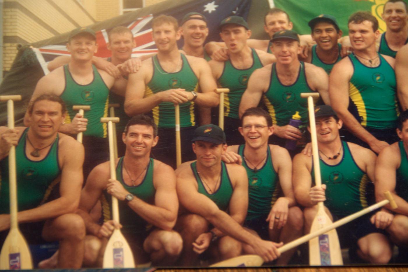 Mens teamWorld Champs Nottingham, 1999